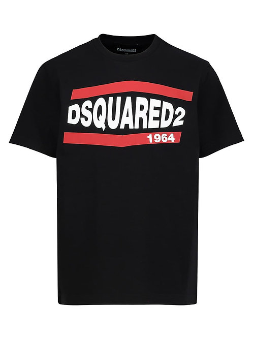 DSQUARED2 t-shirt zwart