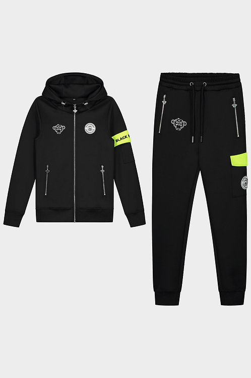 Black Bananas command tracksuit black