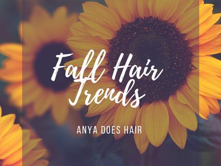 Fall 2020 Hair Trends