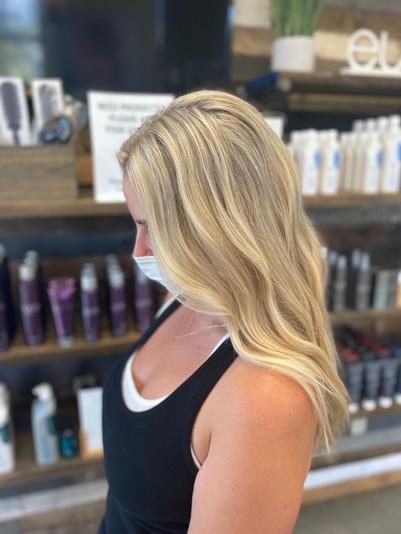 Beachy Blonde Highlights by Anya