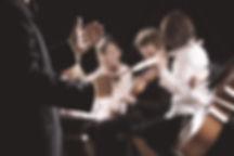 Orchestre, musique, musicien