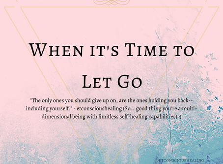 Knowing When it's Time to Let Go