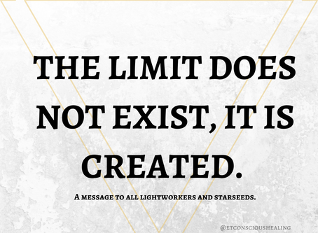 The Limit Does Not EXIST, it is CREATED