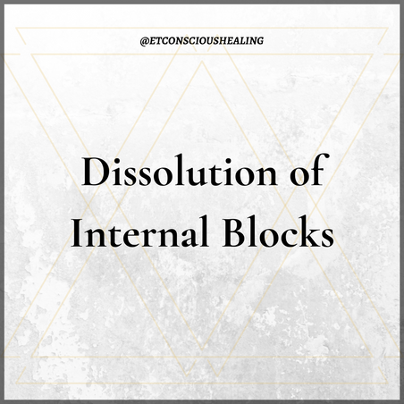 Dissolution of Internal Blocks