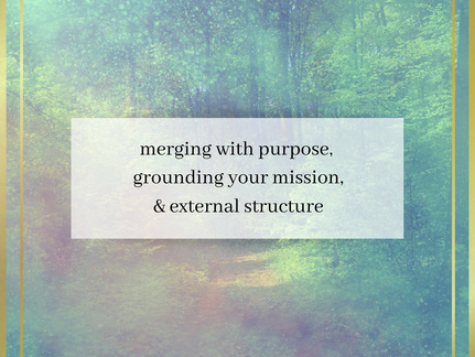 Merging with Purpose