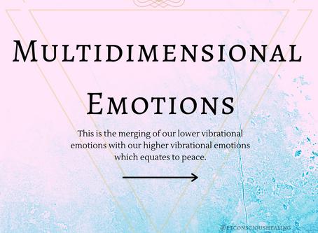 Multidimensional Emotions