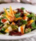 frische Salate und vegetarische Gerichte