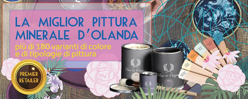 Vernice Minerali per Mobili Chalk Gesso Eco | La Vita Colorata | Sansepolcro