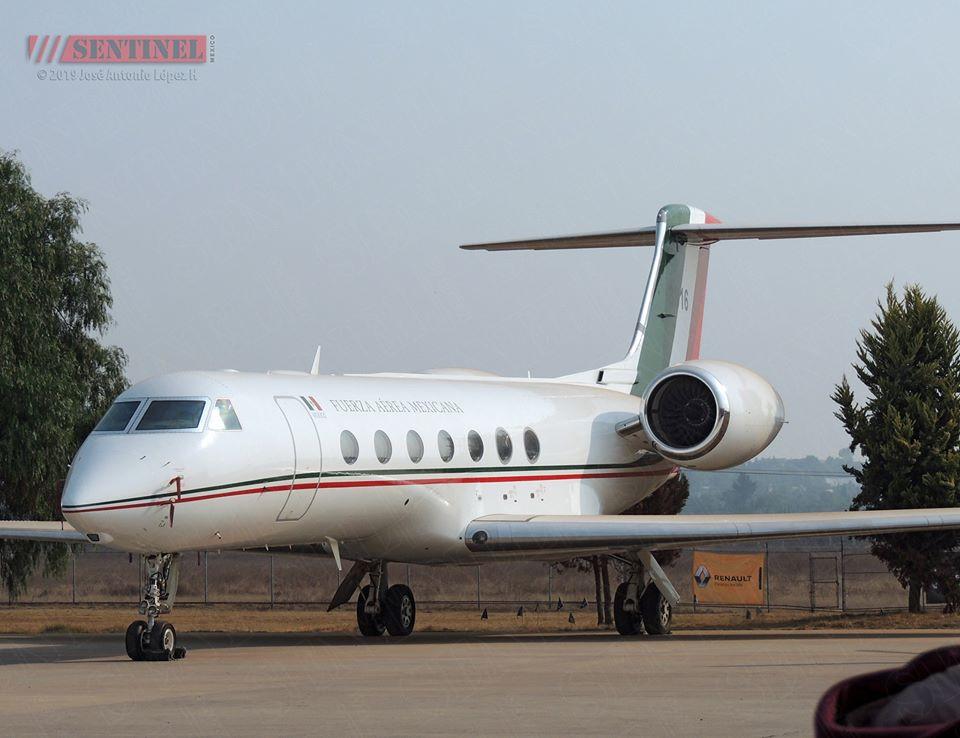 Jet ejecutivo que fue enviado para traer a Evo Morales