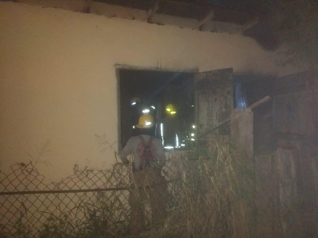 incendio de casa en españa y aduana