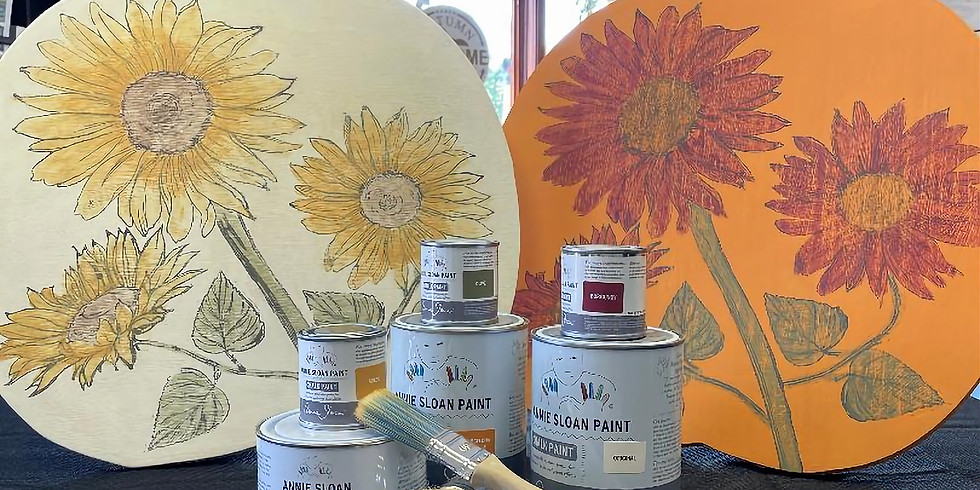 Chalk Paint Pumpkins