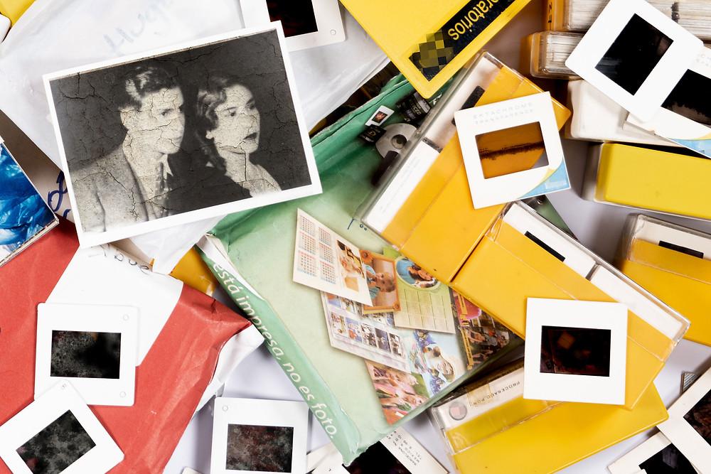 Fotos antiguas abandonadas y maltratadas