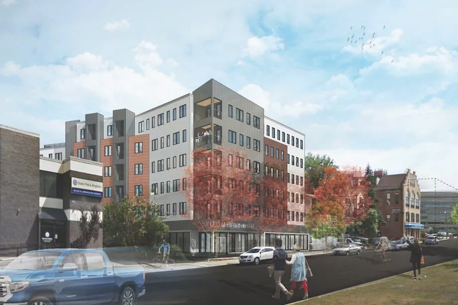 Bridgeline Exteriors is awarded 50 Leo Birmingham Parkway, in Brighton - MA, by Rise Construction