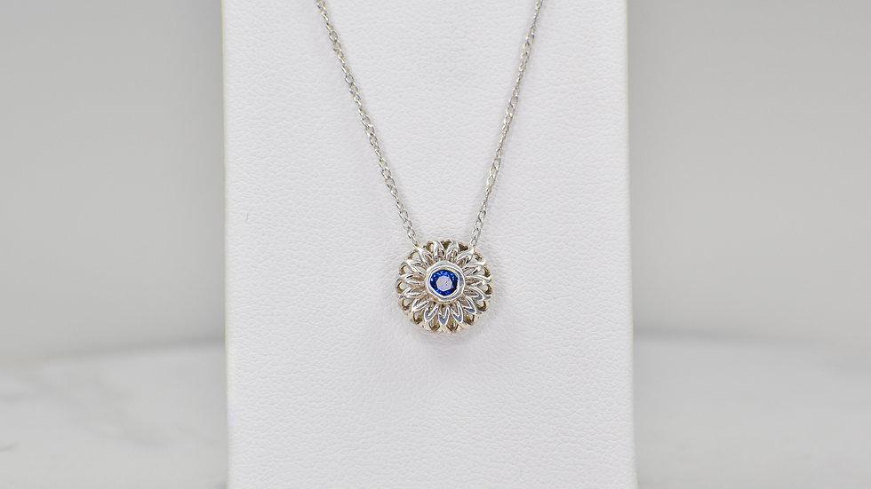 Fatima 2.0 - Blue Sapphire/Sterling