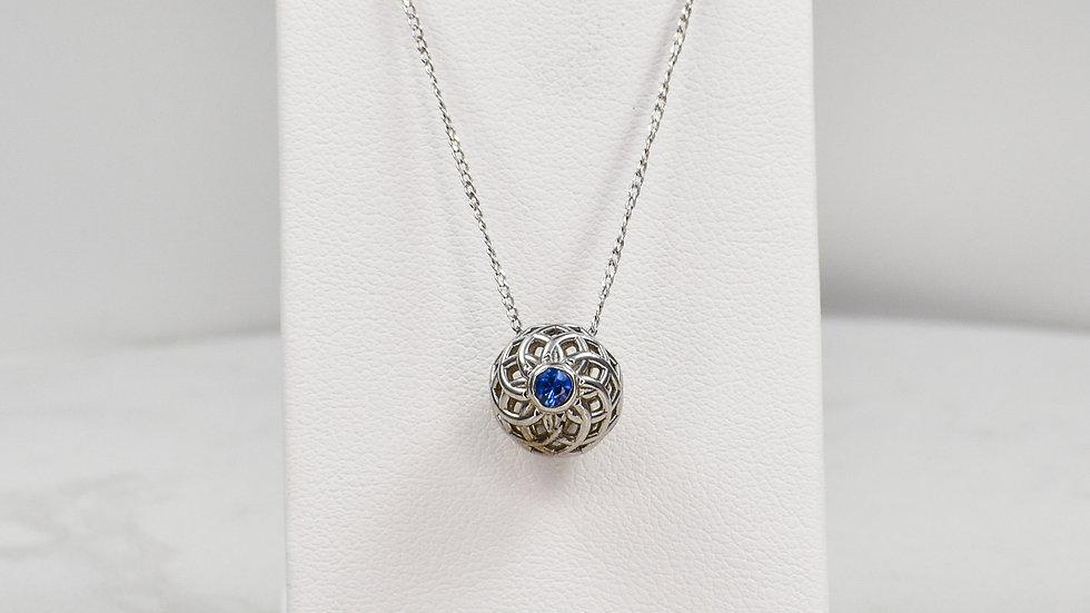 Fatima 3.0 - Blue Sapphire/Sterling