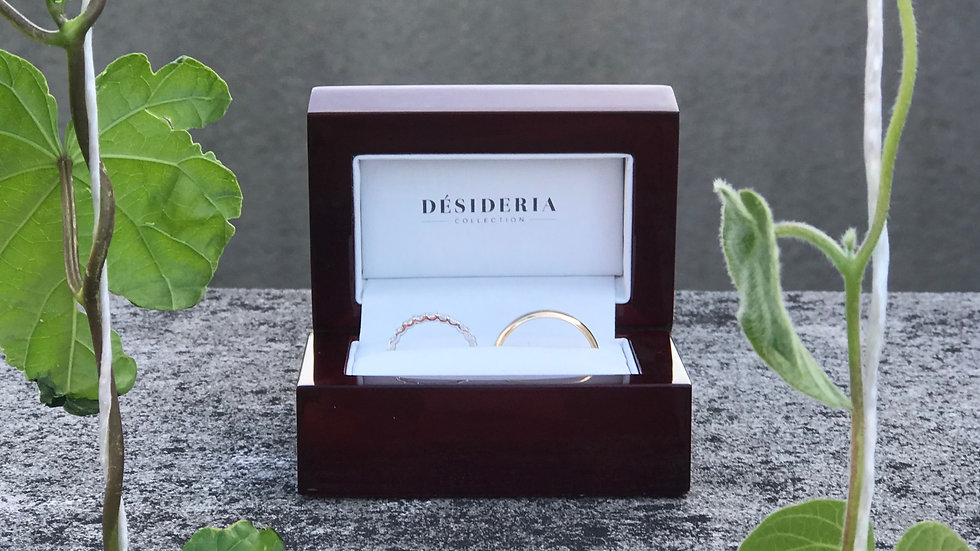 Désideria Double Ring Box