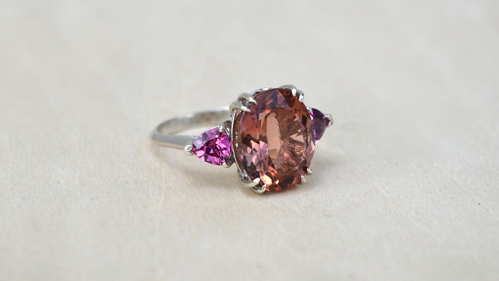 Trinity Cocktail Ring