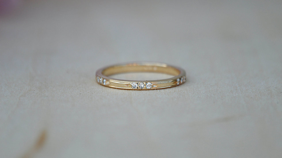 Emma Band - 14k yellow gold