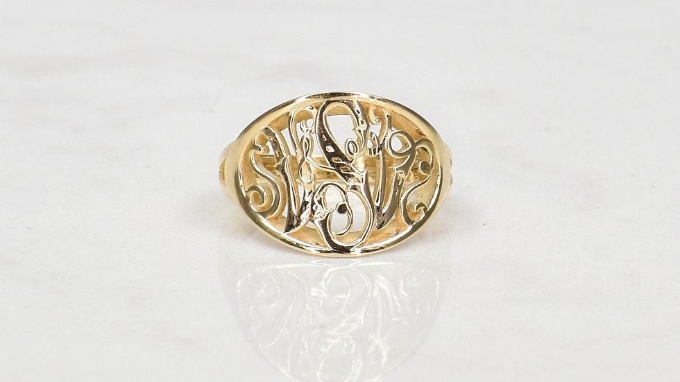 Victoria Vintage Signet Ring