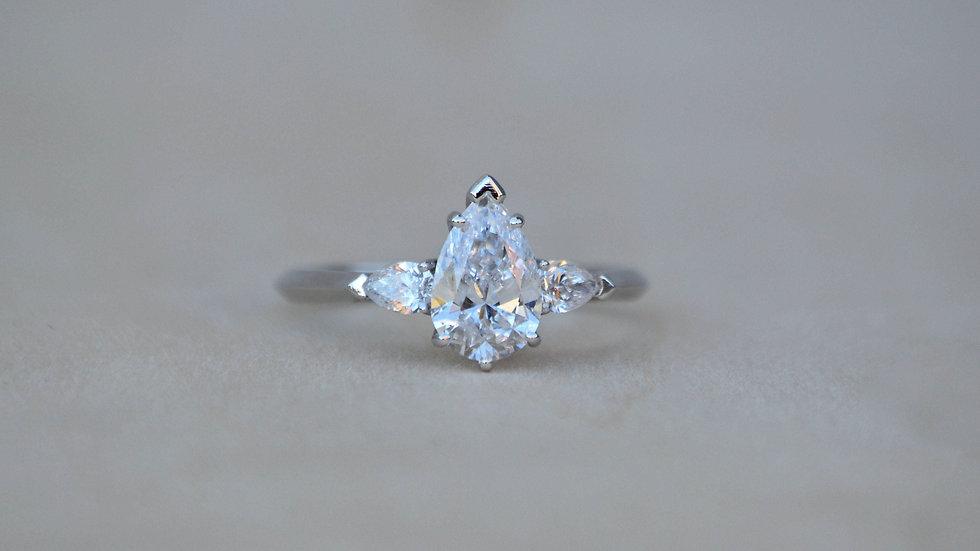 Magnolia Engagement Ring