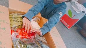 ココハルこども食堂さんに佐々木ファームの無農薬野菜を送りました♪
