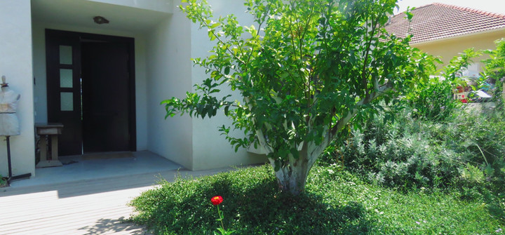 וילה בשדה ורבורג - הכניסה לבית