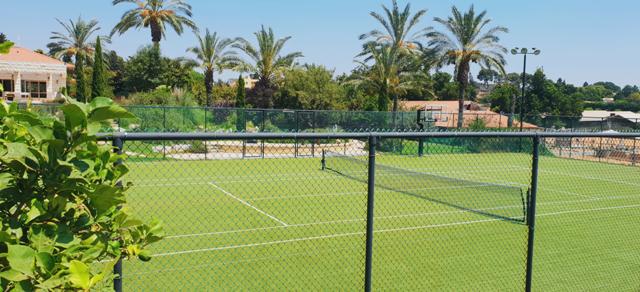 משק בשדה ורבורג - מגרש הטניס