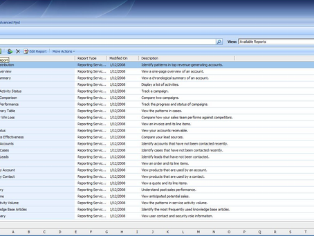 Unified Interface and CRM 4 UI