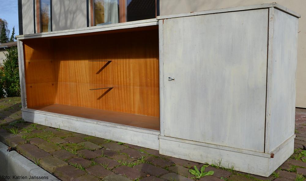 een oude kast opknappen - foto: Katrien Janssens