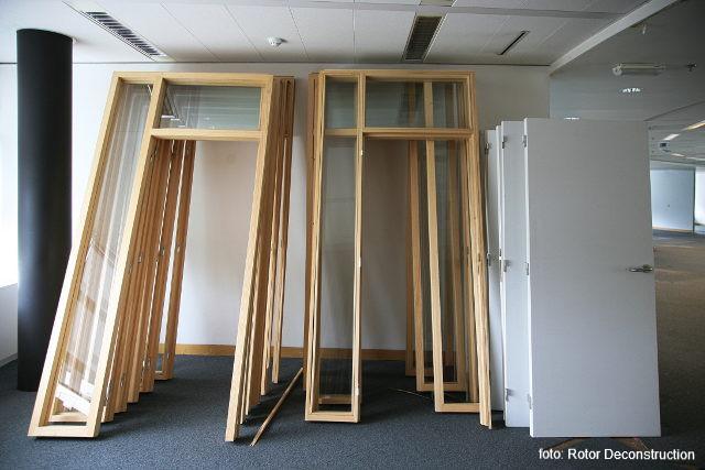 binnendeuren met glas - foto: Rotor Deconstruction