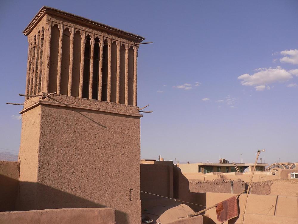 badgir in Iran - foto: Babeltravel - Flickr Creative Commons