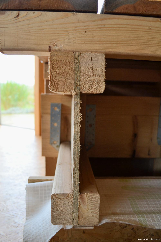 besparen op ruwbouw - zelfbouw I-liggers - foto: Katrien Janssens