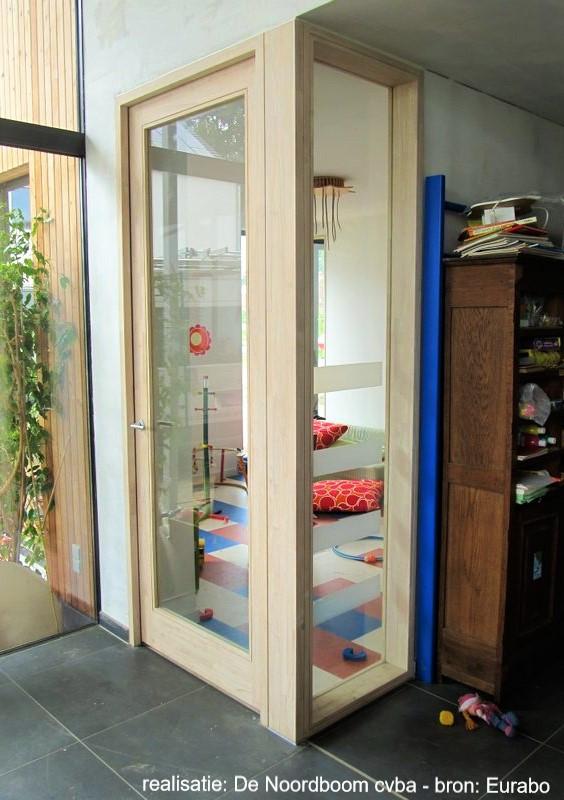 rubberwood binnendeur - bron: Eurabo