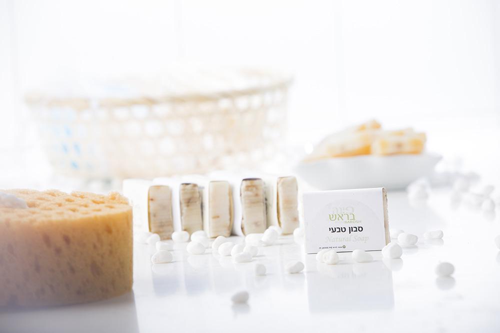 סבון טבעי פרחי לבנדר