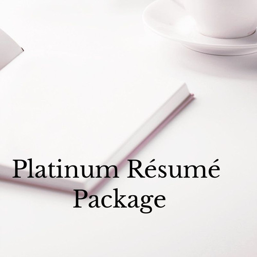 Platinum Resume Package