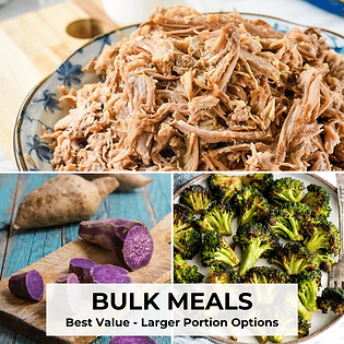 Bulk Meals Meal Prep Good Clean Food Hawaii