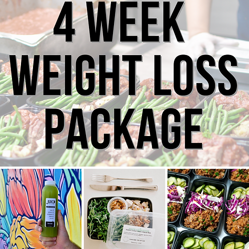 4 Week Weight Loss Package - 5 Days