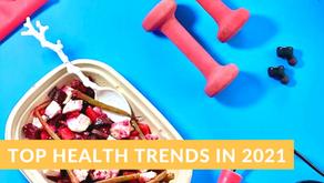 TOP HEALTH TRENDS IN 2021