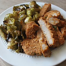 Breaded Pork Chop, Brussels Sprouts & Housemade Ranch