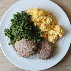 GCF Keto Breakfast Plate