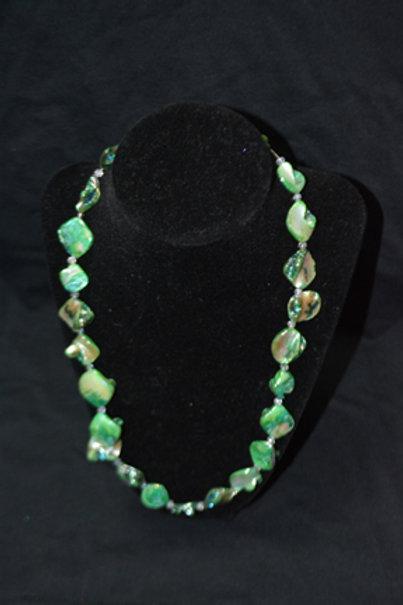 Green 10'inch Stone Bracelet