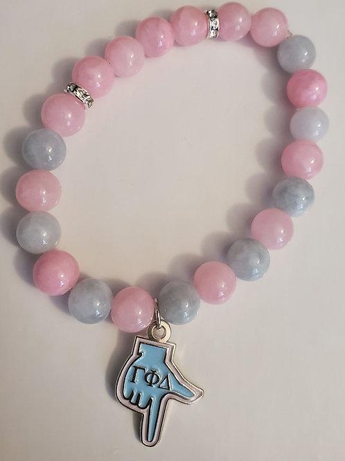 Baby Pink & Blue bracelet