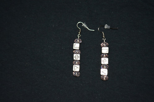 Gamma Phi Delta Earrings