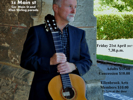 Friday 21st April: Classical Guitar Recital with Don Neander