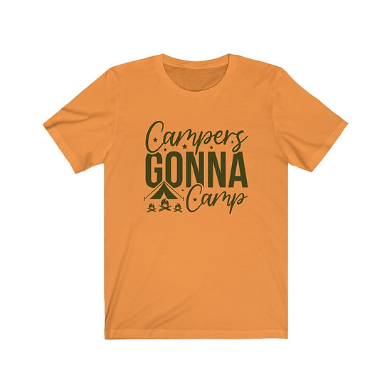 Campers Gonna Camp Unisex Jersey Short Sleeve Tee