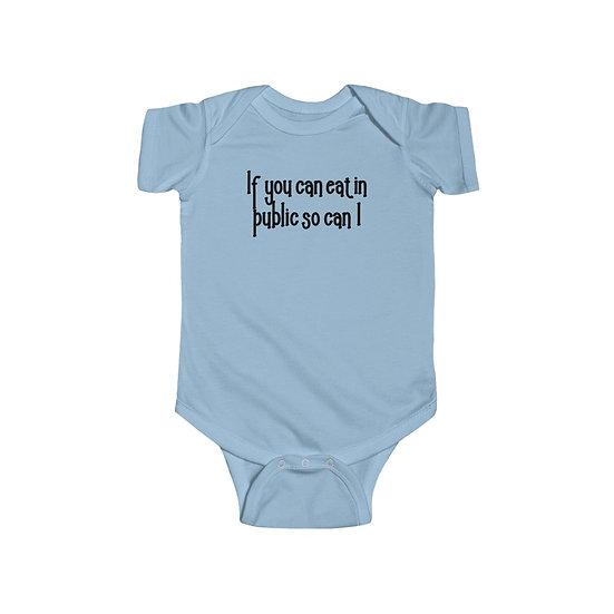 Eat in Public Infant Fine Jersey Bodysuit