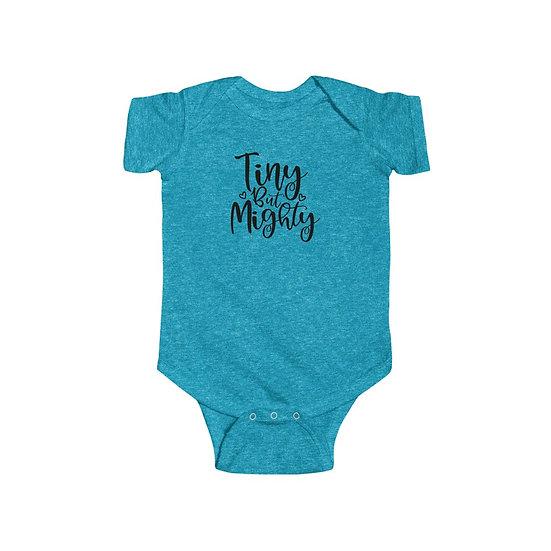Tiny But Mighty Infant Fine Jersey Bodysuit