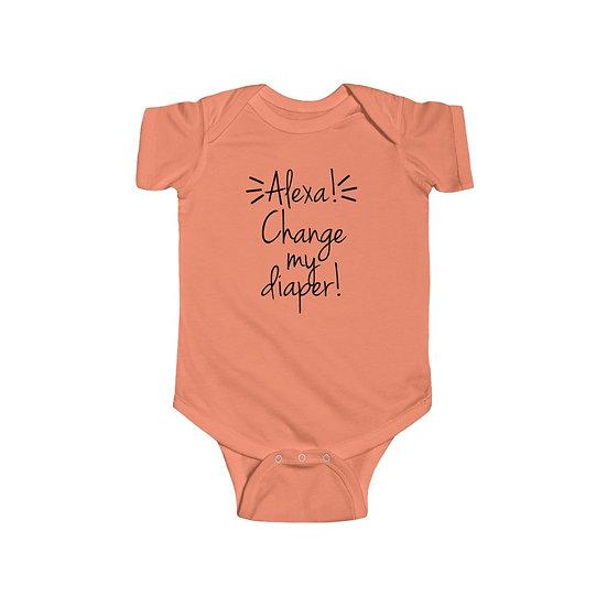 Alexa! Infant Fine Jersey Bodysuit