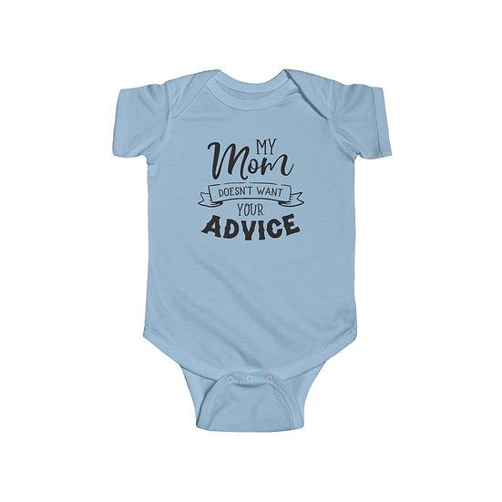 Your Advice Infant Fine Jersey Bodysuit