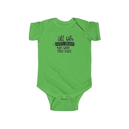 All of God's Grace Infant Fine Jersey Bodysuit